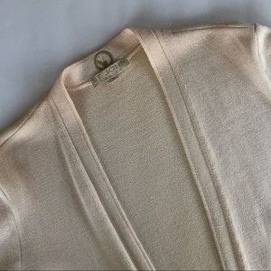 ST. JOHN BASICS | santana knit open cardigan